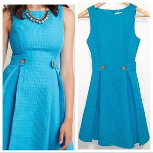 ModCloth So Sixties Signature Blue Dress-XXS NWOT